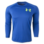 Under Armour Core Graphic Long Sleeve T-Shirt (Royal)