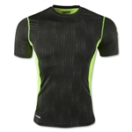 Under Armour HeatGear Sonic Fitted Printed T-Shirt (Dark Green)