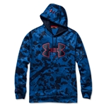 Under Armour Fleece Storm Printed Outline Big Logo Hoody (Royal)