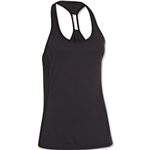 Under Armour Fly-By Stretch Mesh Tank (Black)