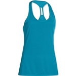 Under Armour Fly-By Stretch Mesh Tank (Teal)