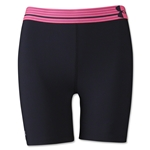 Under Armour HeatGear Alpha 5 Mid Short (Black/Pink)