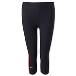 Under Armour HeatGear Alpha Novelty Capri (Blk/Pur)