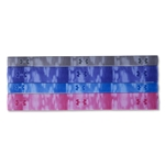 Under Armour Women's Graphic Elastic 4-Pk Headband (Purple)