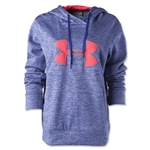 Under Armour Big Logo Applique Hoody (Iris)