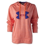 Under Armour Big Logo Applique Hoody (Orange)