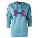 Under Armour Big Logo Applique Hoody (Teal)