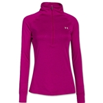 Under Armour Women's Tech 1/4 Zip (Magenta)