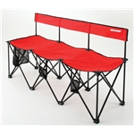 Insta-Bench LX 3-Seater (Red)