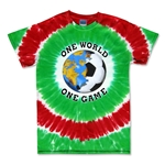 Iran Soccer One World Tie-Dye T-Shirt