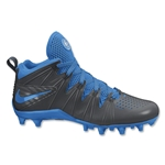 Nike Huarache 4 Lax Cleats (Anthracite/Photo Blue)