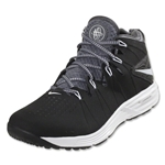 Nike Huarache 4 Lax Turf Shoes (Black/White-dark grey)