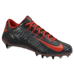 Nike Vapor Carbon ELT 2014 Lacrosse Cleats (Antracite/Challenge Red)