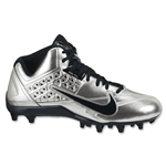 Nike Speedlax 4 Lacrosse Cleats (Metallic Silver/Black)