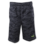 Nike Youth Lax Mesh Print Short (Dk Grey)