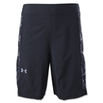 Under Armour Lacrosse Woven Perforated Short (Black)