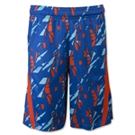 Under Armour Youth Lacrosse Printed Short (Blue)