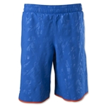 Under Armour Youth Lacrosse Woven Short (Blue)