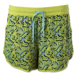 Under Armour Women's Ripshot Shorts (Yellow)
