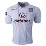 Aston Villa 14/15 Away Soccer Jersey w/ FA Cup Patch