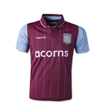 Aston Villa 14/15 Youth Home Soccer Jersey