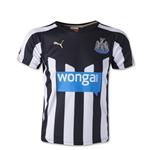 Newcastle United 14/15 Youth Home Soccer Jersey