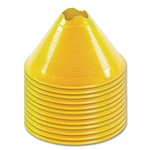 Large Disc Cone 12 Pack (Yellow)