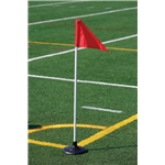 Kwik Goal Premier Corner Flags Set of 4