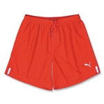 PUMA Lyon Soccer Shorts (Red)