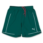 PUMA Women's Manchester Soccer Shorts (Dark Green)