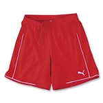 PUMA Women's Manchester Soccer Shorts (Red)