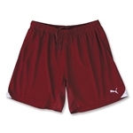 PUMA Powercat 5.10 Short w/o Brief (Maroon/Wht)