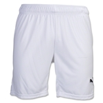 PUMA Team Soccer Shorts (White)