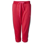 PUMA Women's Lifestyle Track Capri (Red)