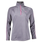 PUMA Women's 1/2 Zip Pullover (Gray)