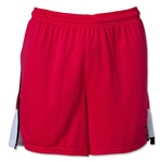 PUMA Women's Soccer Short (Pink/White)
