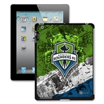 Seattle Sounders iPad 2+ Case (Center Logo)