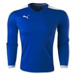 PUMA Pitch Long Sleeve Jersey (Roy/Wht)