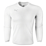PUMA Pitch Long Sleeve Jersey (White)