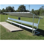 Pevo Covered Aluminum Bench 21'