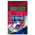 FC Dallas Desktop Calculator (Center Logo)