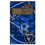 San Jose Earthquakes Desktop Calculator (Corner Logo)