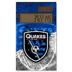 San Jose Earthquakes Desktop Calculator (Center Logo)