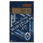 Vancouver Whitecaps Desktop Calculator (Corner Logo)