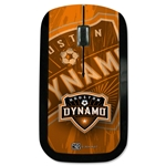 Houston Dynamo Wireless Mouse (Corner Logo)
