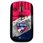 FC Dallas Wireless Mouse (Center Logo)