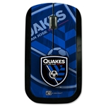 San Jose Earthquakes Wireless Mouse (Corner Logo)