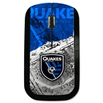 San Jose Earthquakes Wireless Mouse (Center Logo)