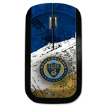 Philadelphia Union Wireless Mouse (Center Logo)