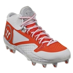 Warrior Adonis 2.0 Lacrosse Cleats (White/Orange)